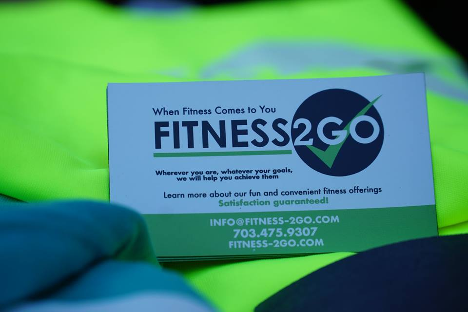 Fitness2Go Business Card
