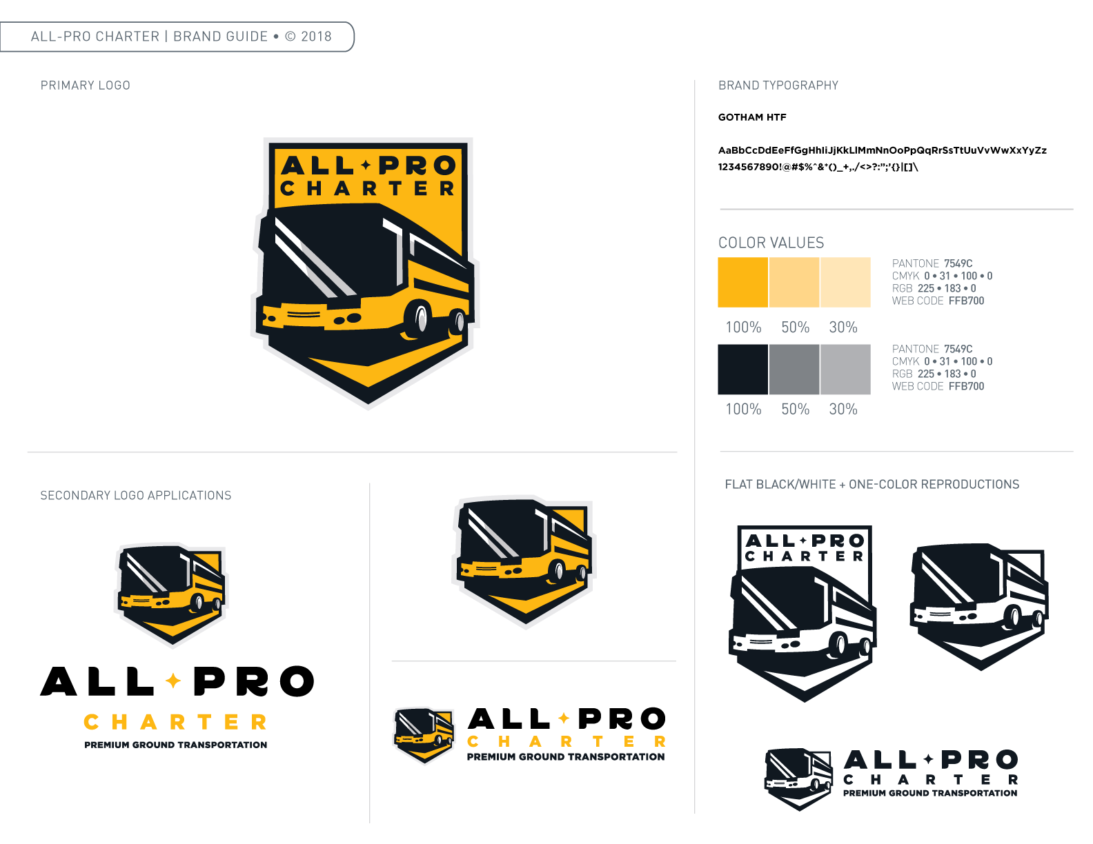 All Pro Charter Brand Guide