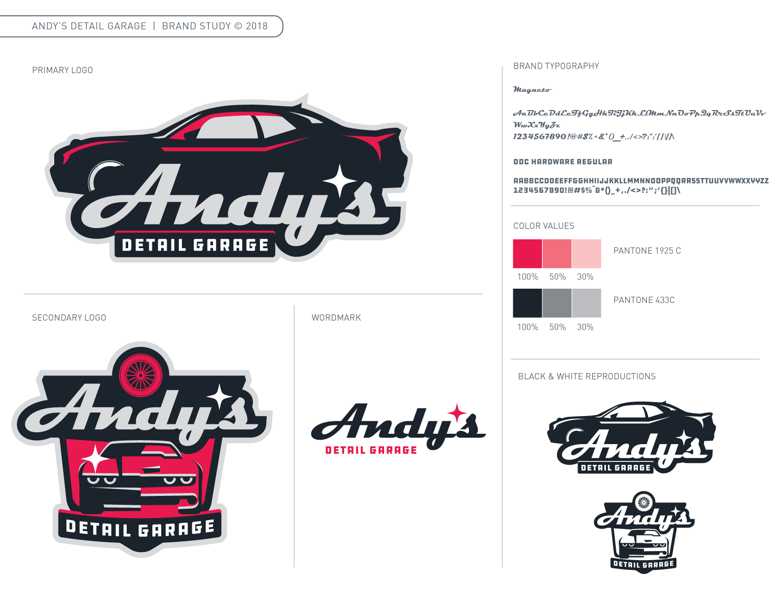 Andy's Detail Garage Brand Guide