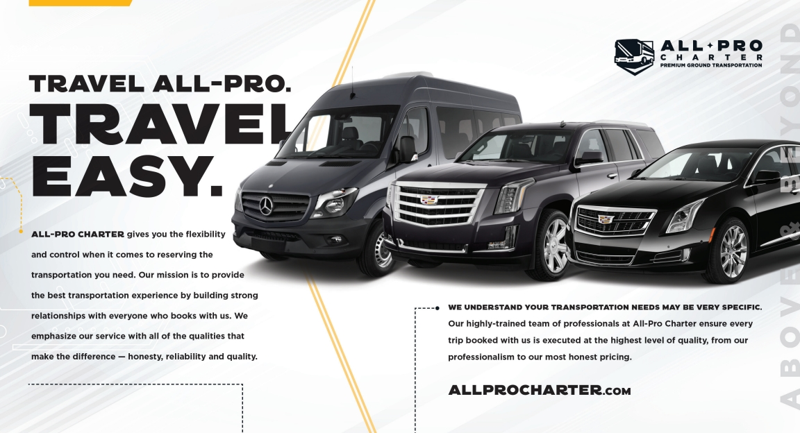 All Pro Charter Brochure Inside