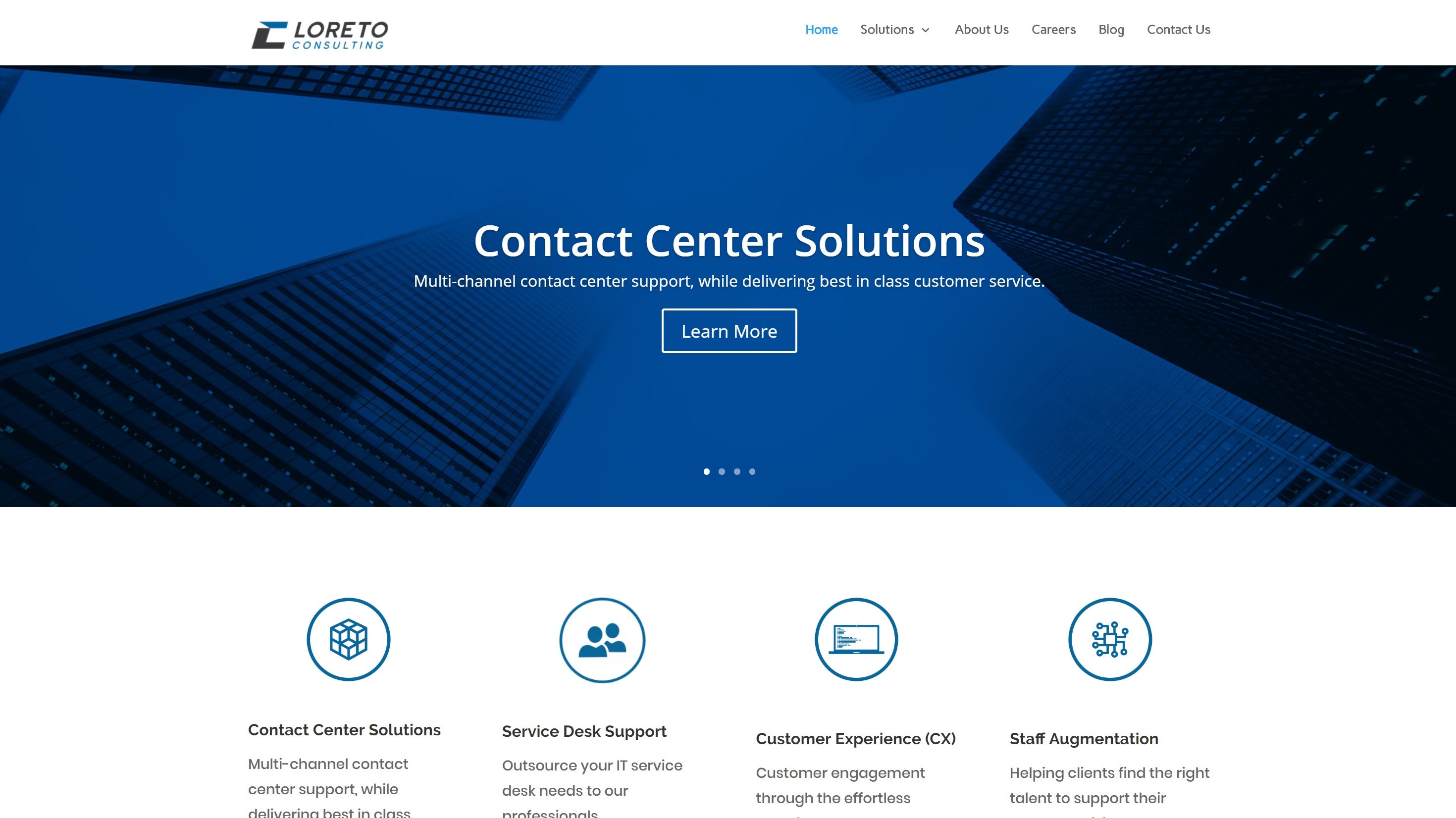 Loreto Consulting Website